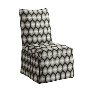 Mackenzie Skirted Upholstered Dining Chair Barclay Butera