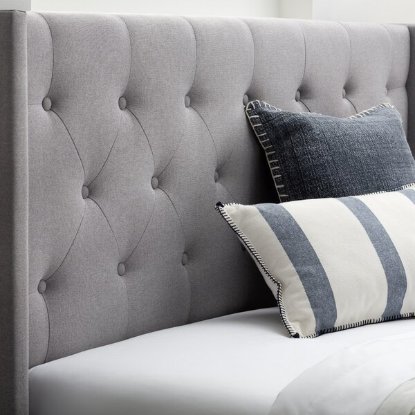 Abriela Upholstered Panel Headboard by Red Barrel Studio®