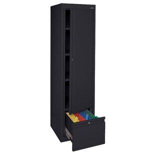 Systems Series 64H x 17 W x 18D Adjustable Shelf Storage Cabinet