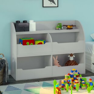 Bargain Smelser Toy Storage 36 Bookcase by Harriet Bee Reviews (2019) & Buyer's Guide