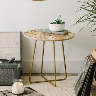 Pimlada Phuapradit Ditsy Floral Field End Table