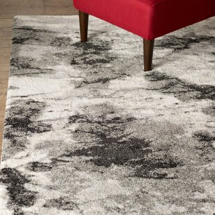 Bussiere Ivory / Gray Area Rug byBrayden Studio
