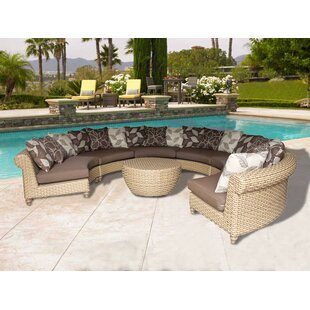 Wiggins 7 Piece Sectional Set with Cushions