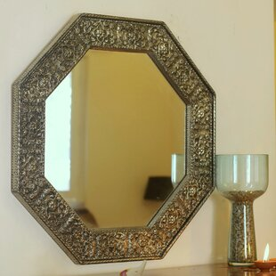 Octagonal Brass Mirror Wayfair