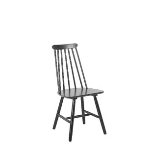 Gracie Oaks Wickham Solid Wood Dining Chair (Set of 2)