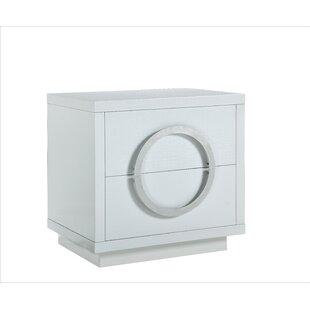 Keshun 2 Drawer Nightstand by Orren Ellis