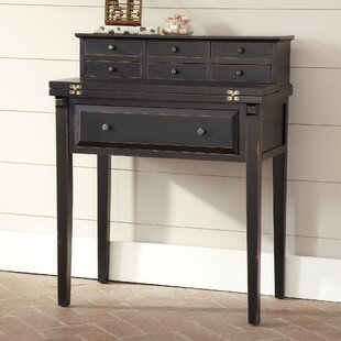 Gallo Solid Wood Secretary Desk with Hutch