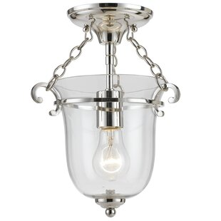 Crystorama Camden 1-Light Urn Pendant