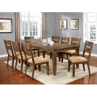 Loon Peak City of Creede Extendable Dining Table