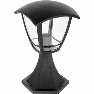 Sacremento 1-Light Pedestal Light By Sol 72 Outdoor