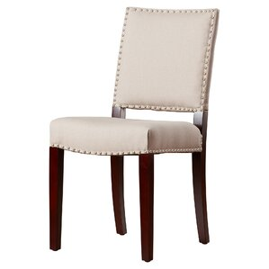 Mcknight Bicast Leather Side Chairs in Cr..