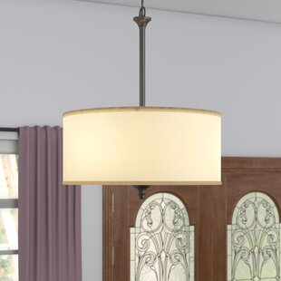 Price Check Matteson 2-Light Drum Pendant By Andover Mills