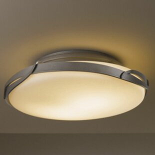 Hubbardton Forge Flora 2-Light Semi Flush Mount