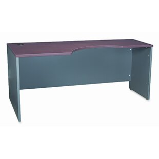 Comparison Series C Left Desk Shell By Bush Business Furniture