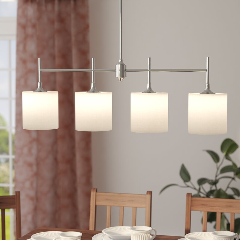 Foland 4 Light Kitchen Island Pendant