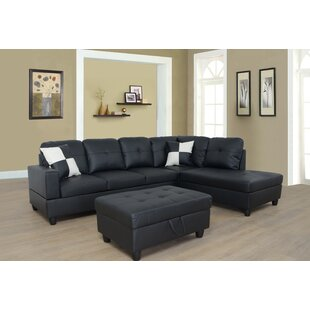 Red Barrel Studio Borowski Sectional with..