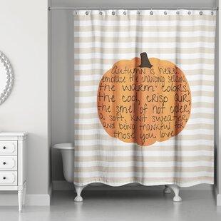Embrace Autumn Single Shower Curtain