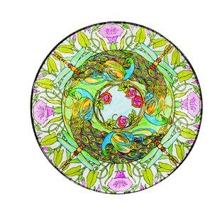 Evergreen Enterprises, Inc Secret Garden Glass Birdbath