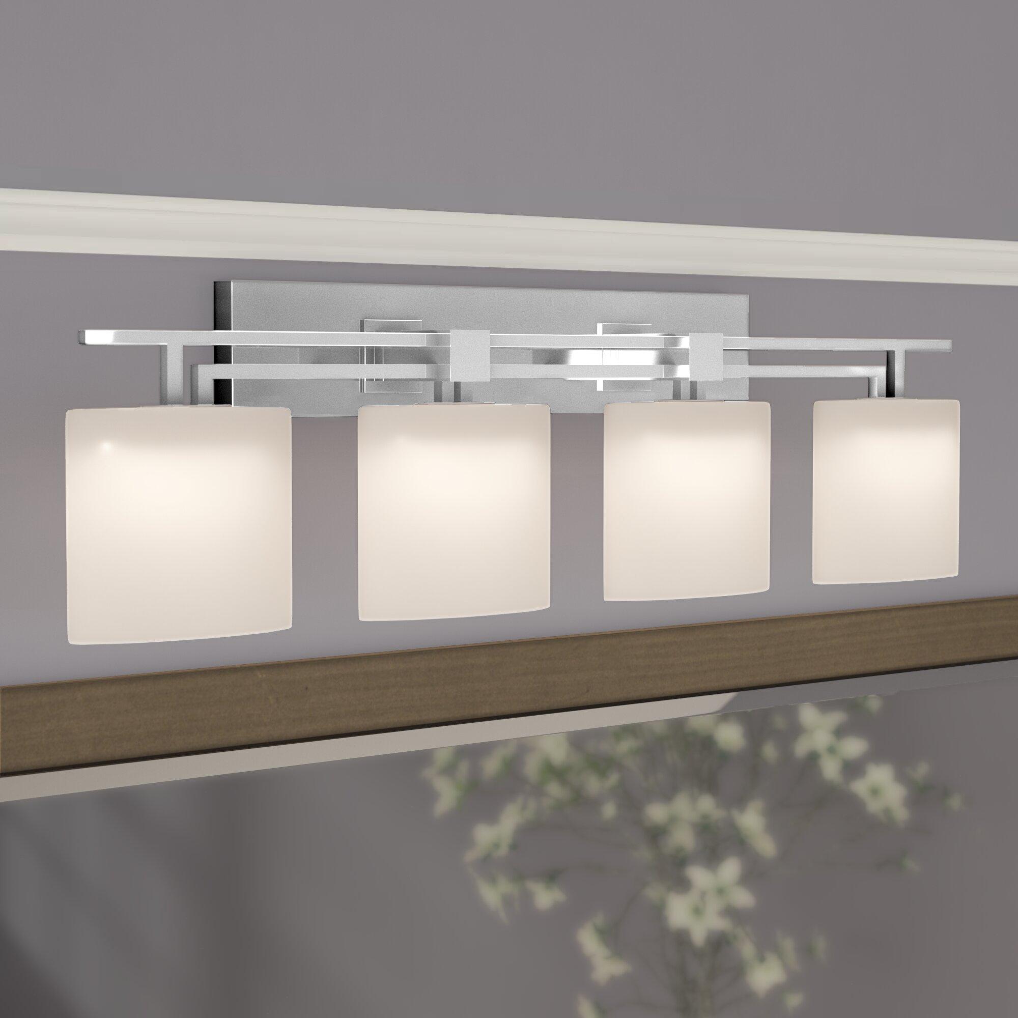 Brayden Studio Luzerne Aero 4 Light Oval Bath Vanity Light
