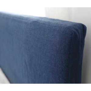 Double Stitched Tall Headbaord Slipcover by Pom Pom At Home