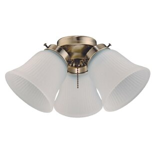 Cluster 3-Light Branched Ceiling Fan Light Kit
