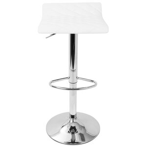 Morgana Adjustable Height Swivel Bar Stoo..