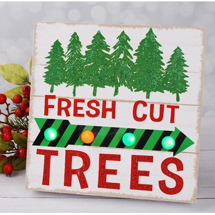 Fresh Cut Trees LED Wall Light By Winston Porter