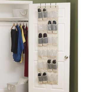 Cedarline 24 Pocket Overdoor Shoe Organizer