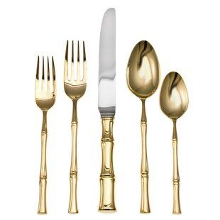 Best Gold Bamboo Flatware | Wayfair AU59