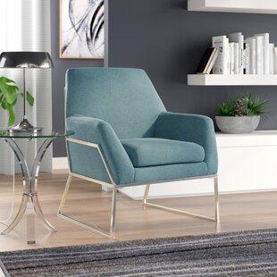 Orren Ellis Sankey Modern Armchair