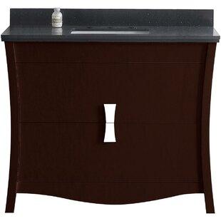 Cataldo Floor Mount 48 Single Bathroom Vanity Set with 8 Centers Faucet Mount By Royal Purple Bath Kitchen