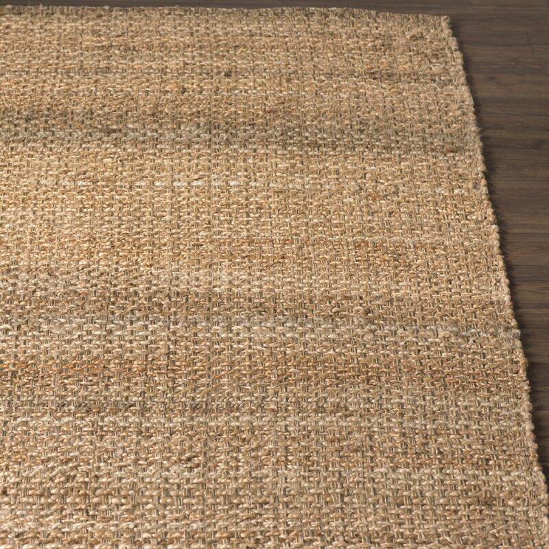 Nohemi Hand Woven Brown Area Rug