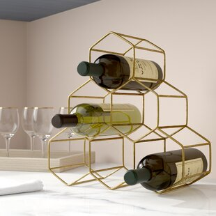 Stetson 6 Bottle Tabletop Wine Rack by Wi..