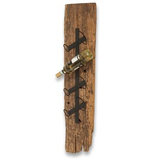 Gianna Beach Chic Wall Mounted Wine Rack by Millwood Pines
