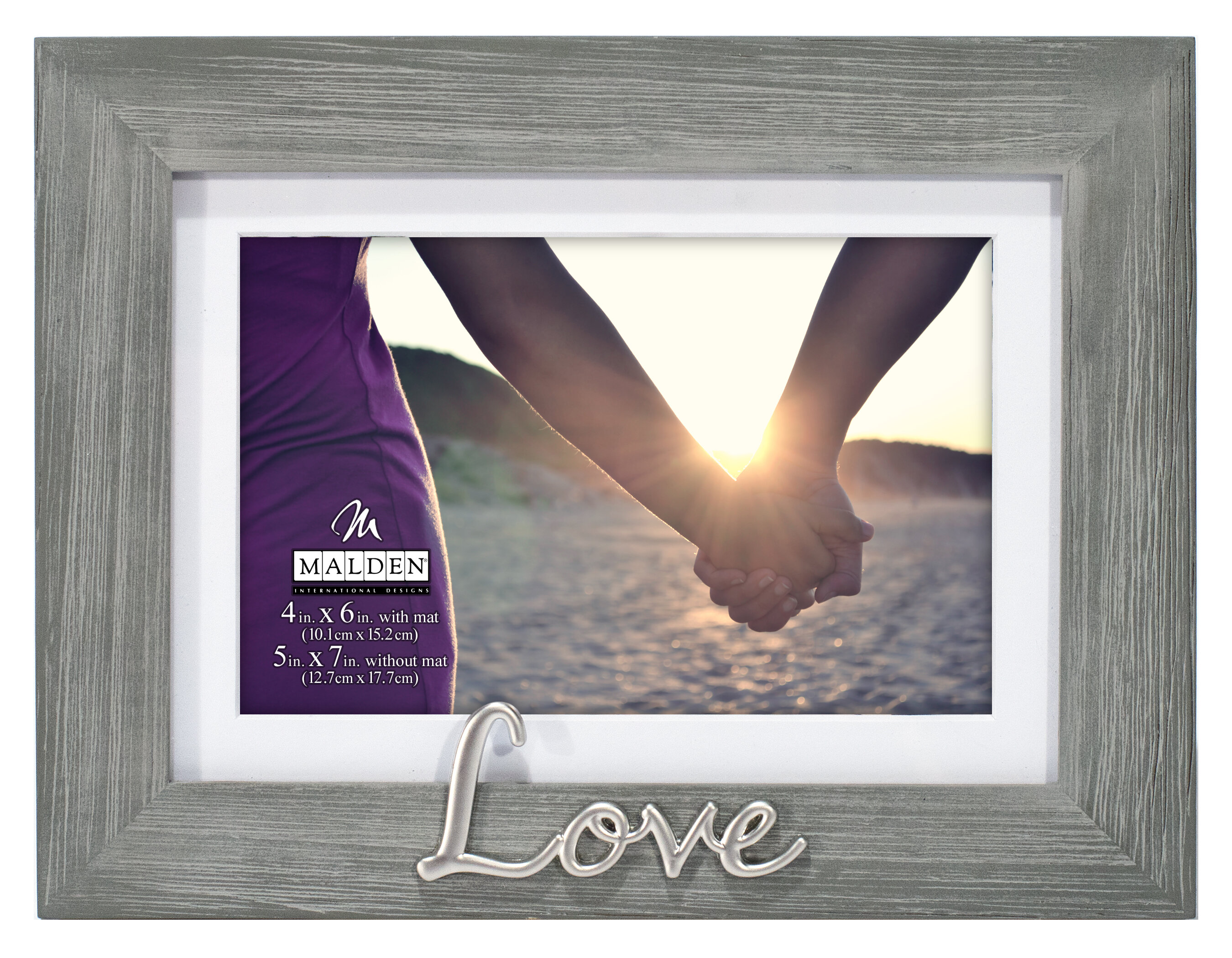 Winston Porter Love Distressed Picture Frame Reviews Wayfair