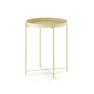 Murphy Round Metal Tray Table