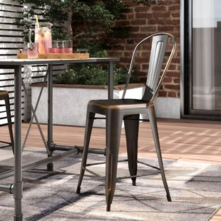 Mattias 24'' Patio Bar Stool