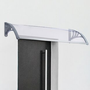 Symple Stuff W 1.21 X D 0.8m Door Awning By Symple Stuff
