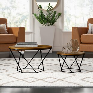 Dunavant 2 Piece Coffee Table Set