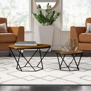 Dunavant 2 Piece Coffee Table Set by Mercury Row