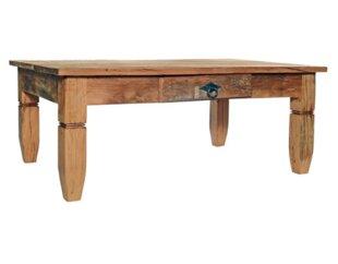 Leblon Solid Wood Coffee Table by Alexandra Sophia Reclaimed