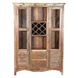 Broumy Glass Shutter China Cabinet