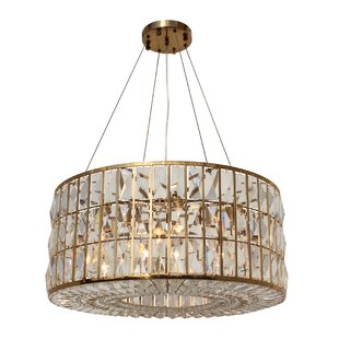 Jacques 6-Light Crystal Chandelier By Everly Quinn