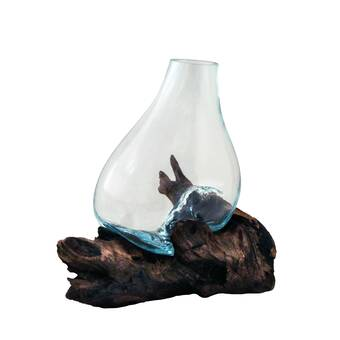 Foundry Select Altnahinch Glass Table Vase Reviews Wayfair
