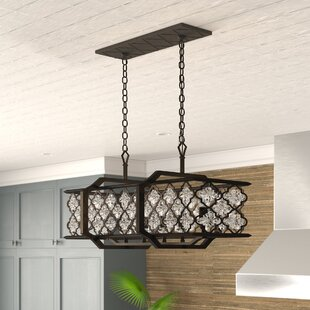 Bungalow Rose Egor 6-Light Kitchen Island Pendant