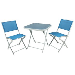 River Cottage Gardens 3 Piece Bistro Set