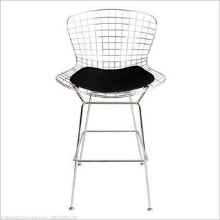 Ontiveros 30 Bar Stool with Leatherette PU Pad Orren Ellis