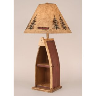 Read Reviews Rustic Living Wooden Boat 33 Table Lamp By Coast Lamp Mfg.