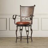 Darlington Bar & Counter Swivel Stool by Fleur De Lis Living