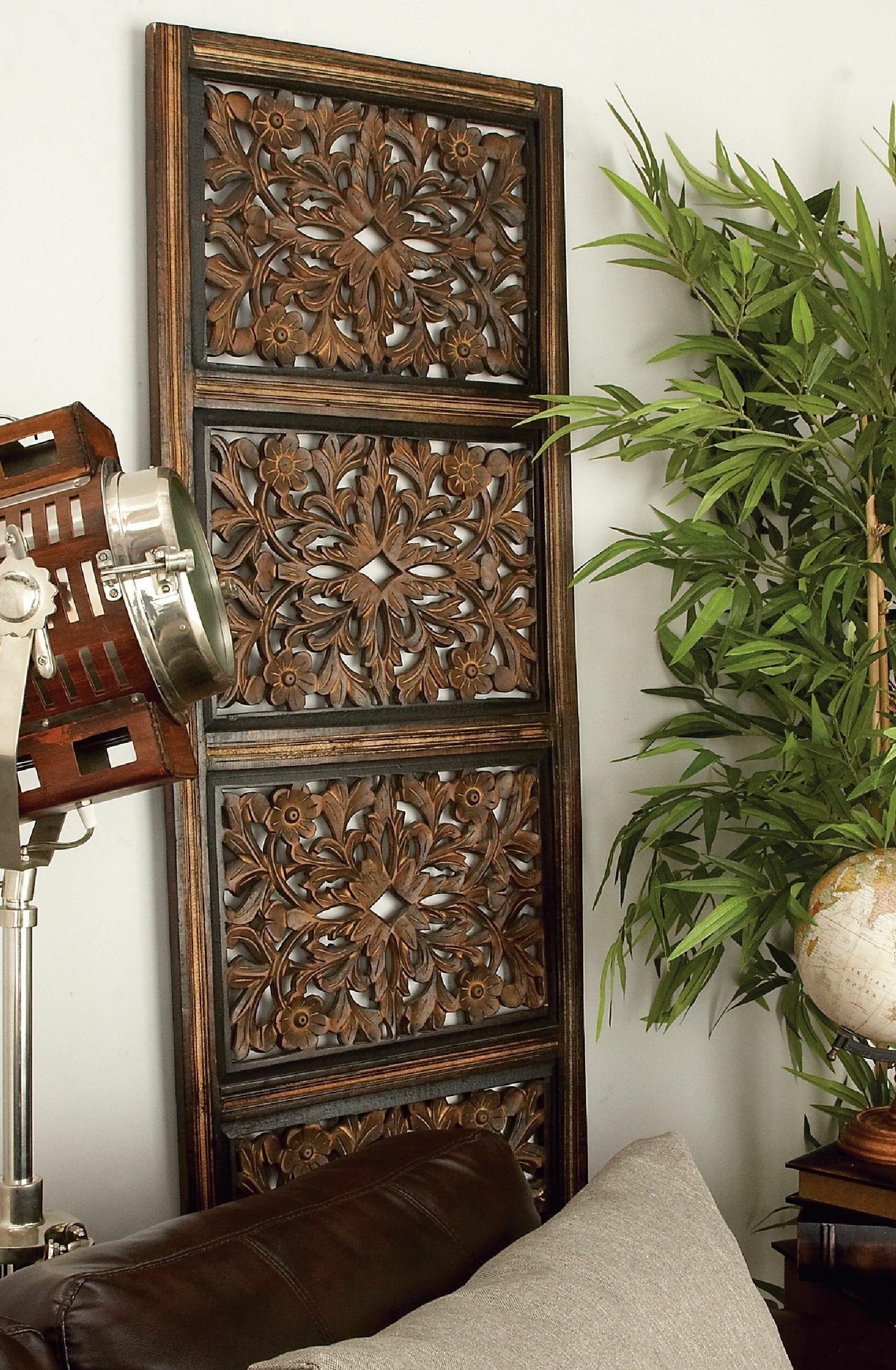Wooden Panel Wall Decor